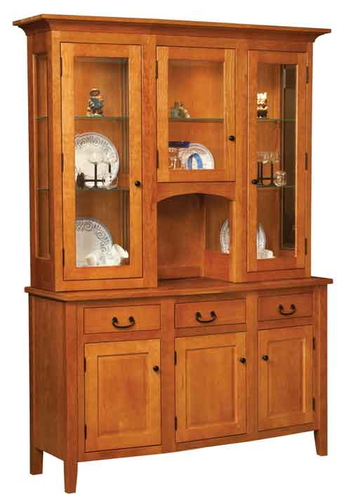 Amish Shelby China Cabinet
